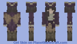 Leucosia~Siren Pirate~ Minecraft Skin