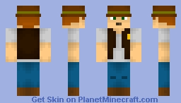 Sergeant Dickson (Officer Cowboy) Minecraft Skin