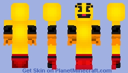 Pac-Man SSBU (Black) Minecraft Skin