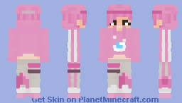 Brightstorm Bomber (Fortnite) Minecraft Skin