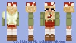 Mushroom   Fairy  🌟🍄 Minecraft Skin