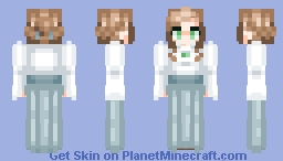 Western Lady Minecraft Skin