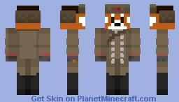 russian red panda Minecraft Skin