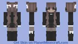 sweet grunge girl Minecraft Skin