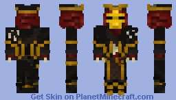 Servant Of Flame- Sea Of Thieves Minecraft Skin
