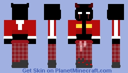 keith-pj-demon human Minecraft Skin