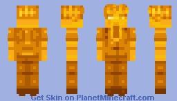 𝐅𝐎𝐑𝐓𝐍𝐈𝐓𝐄: 𝐆𝐎𝐋𝐃  𝐌𝐈𝐃𝐀𝐒 (𝟏𝟒𝟎) Minecraft Skin