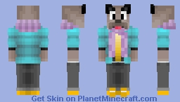Wolf with a Scarf (Request) Minecraft Skin