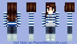 i made a skin of me~ Minecraft Skin