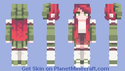 𝑀𝑜𝓈𝒽𝒾  - Crimson Skies Minecraft Skin