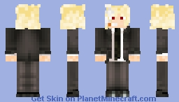 Hikawa the Vampire from Gantz Minecraft Skin