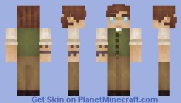 Earnest Banks Minecraft Skin