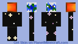 Earth Minecraft Skin
