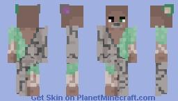 Earth Elemental Rat Minecraft Skin