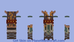 ↳ From Distant Lands Minecraft Skin
