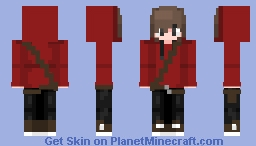 OmgItsSenpaiMSA (Original Skin - 1st Skin I Created) [Remastered] Minecraft Skin