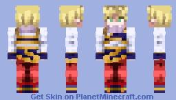 Dragon Ball Z- Super Saiyan Goku (Yardrat Outfit) ~RETURN FROM A DISTANT PLANET~ Minecraft Skin