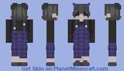 Eboy *blue* Minecraft Skin