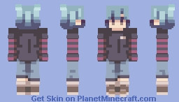 you're not with me - rc Minecraft Skin