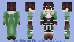Naofumi Iwatani (Rising of the Shield Hero) Minecraft Skin
