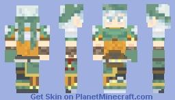 Echidna (Fire Emblem: The Binding Blade) Minecraft Skin