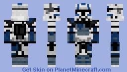 Clone Trooper echo Arc Minecraft Skin