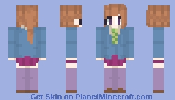 Sara Chidouin 2.0 - Kimigashine/Your Turn To Die Minecraft Skin