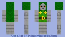 Dr. Doom Minecraft Skin