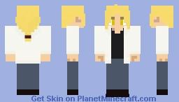 FMA - Edward Elric (Final episode, epilogue version in describtion) Minecraft Skin