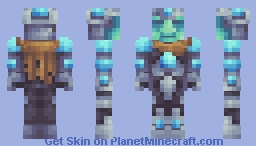 Paragon, the Diamond Deity Minecraft Skin