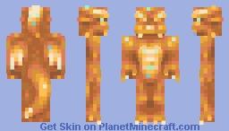 draconic lorax (wildcard weekly palette #1) Minecraft Skin