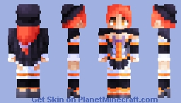 Mischievous Little Witch - Fall Festival entry Minecraft Skin