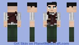 Edward Moss [OC] Minecraft Skin
