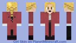 FMA Edward Elric Minecraft Skin