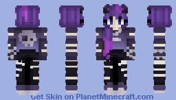 not your girl Minecraft Skin