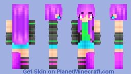 Neon Lights- rm Minecraft Skin
