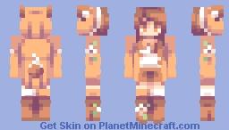 floral fox // rce Minecraft Skin