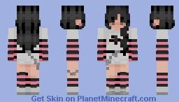 e girl Minecraft Skin