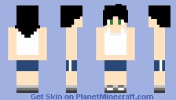 Officer Eileen custom skin (from Prank Call 1&2 by ZAMination) Minecraft Skin