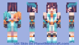 Electric Angel - Skin Fight [Attack -> TsukiaKari] Minecraft Skin