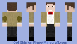 Doctor Who-the eleventh doctor Minecraft Skin