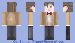 Eleventh Doctor (Doctor Who) Minecraft