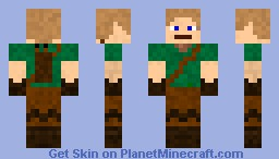 Elf Archer Minecraft Skin