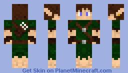 Elf Boy Minecraft Skin
