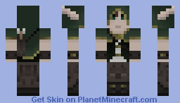 Forest Elf Hunter Minecraft Skin