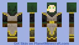 Wood Elf Minecraft Skin