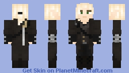 Elf Bandit in Leather Armor Minecraft Skin