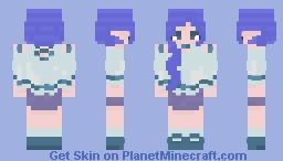 Aqua reshade by me Minecraft Skin