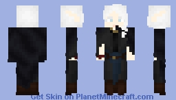 [LOTC] Travelling Elf Minecraft Skin