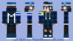 SKIN DE URUGUAY DE MINCERAFT Minecraft Skin